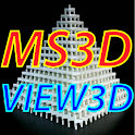 MS3D View 3D icon