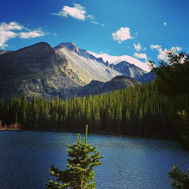 Bear Lake in the Rockies. by Matthew Snider - Landscapes Mountains & Hills ( mountains, colorado, rockies, scenic, landscape )