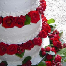 Lemon-Berry Wedding Cake