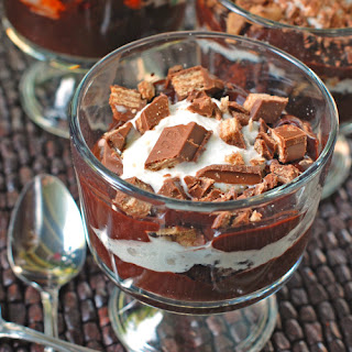Brownie Fudge Trifle