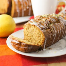 LEMON-GLAZED EGGNOG LOAF