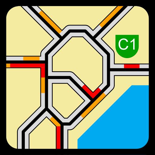 交通运输の渋滞情報ウィジェット LOGO-記事Game
