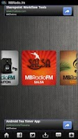 Screenshot of MBRadio.FM