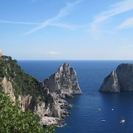 Island of Capri, Italy  by Veronika Walczak - Travel Locations Landmarks (  )