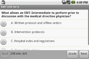 Screenshot of NREMT EMT I-85 Exam Prep