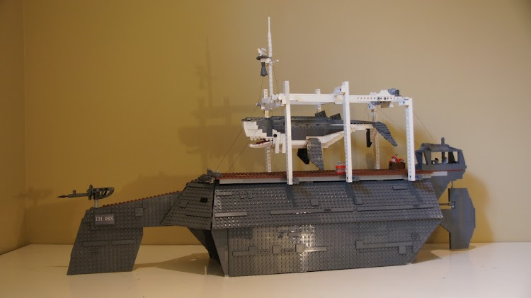 Someone has made whaling trawler from Dishonored out of LEGO and it looks awesome