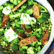 Cook the Book: Pan-Fried Mung Beans with Tempeh