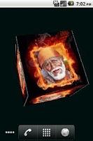 Screenshot of Sai Baba Cube Live WallPaper