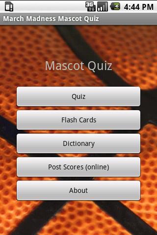 College Sports Mascot Quiz