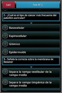 Otorrinolaringología en tests - screenshot