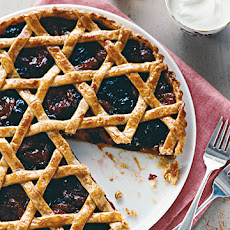 Woven Dried-Fruit Tart