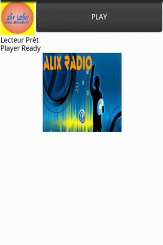 Player Alix radio