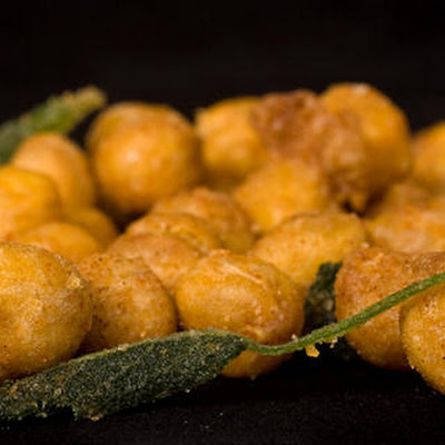 Fried Chickpeas with Sage