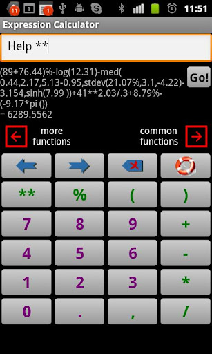 Scientific Calculator Exp