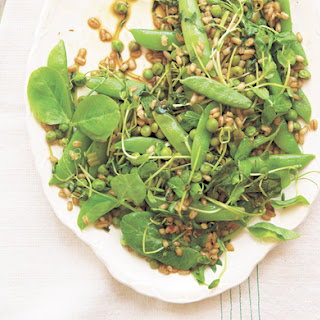 Three Peas with Barley, Chile & Green Garlic