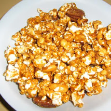 Golden Almond Popcorn