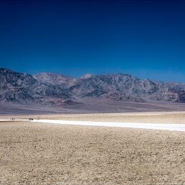 Death Valley by Jacob Padrul - Landscapes Travel ( death valley, national park, desert, flat, vast, lowest place, surreal )