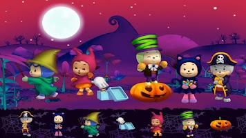 Screenshot of Halloween Sticker Book Lite