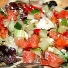 Greek Diced Vegetable Salad