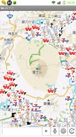 Screenshot of Wi-Fiナビ WiFiスポット地図検索