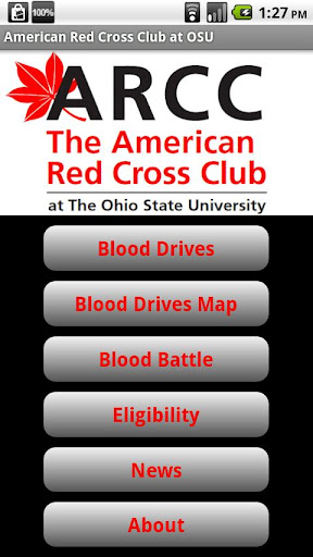 American Red Cross Club at OSU