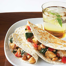 Chicken, Spinach & Ricotta Quesadillas