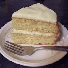 Zesty Lemon Sponge Cake