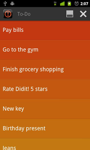 Did it Free To-Do List