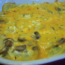 Cottage Cheese Crookneck Casserole