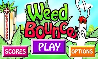 Screenshot of Weed Bounce