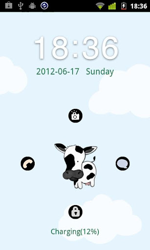 Cow Theme GO Locker