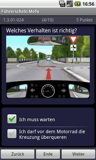 Führerschein Mofa