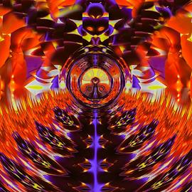 by Amrita Bhattacharyya - Digital Art Abstract (  )