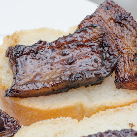 PorkBelly Snack by Marc Hunter - Food & Drink Meats & Cheeses ( pork, snack, belly )