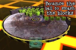 Screenshot of Block Rockin: 3D brick breaker