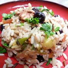 Wild Rice and Barley Pilaf With Dried Fruit
