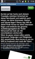 Screenshot of Berufs-Safari
