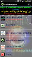 Screenshot of Sunni Online Radio