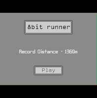 Screenshot of 8bit runner