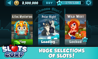 Screenshot of Slots Corp.