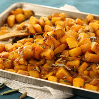 Butternut Squash with Pumpkin Seeds and Warm Spices