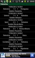 Screenshot of Noticias sobre o Palmeiras