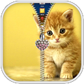 App Kitty Zipper Screen Lock apk for kindle fire