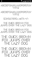 Screenshot of Fonts for FlipFont  #16