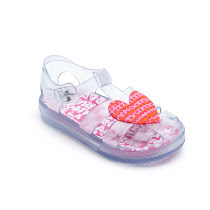 Agatha Ruiz de la Prada Heart Jelly Shoe JELLY