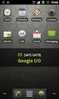 Screenshot of DaysUntil Widget