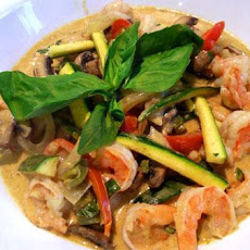Thai Shrimp and Vegetable Curry