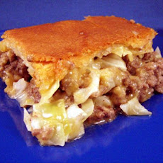 Cabbage & Meat Pie