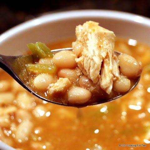 Low Fat High Taste Crock Pot White Chicken Chili