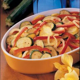 Squash and Pepper Skillet